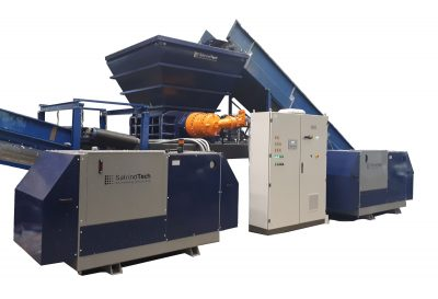 Waste Shredders uk - 2 shaft shredder