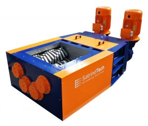 4 Shaft Shredder - Industrial Shredders