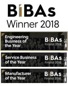 BiBAs Winner 2018 - Engineering Business of the Year