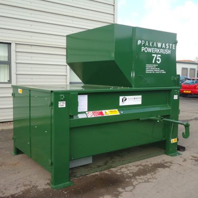 Powerkrush 75 Static Waste Compactor