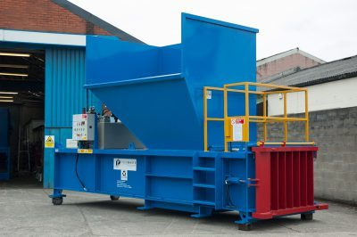 Powerkube XL Horizontal Waste Baler Machine
