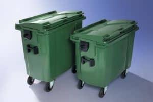 Waste Wheelie Bins - 2 & 4 Wheeled Bins