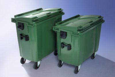 Waste Wheelie Bins - 2 & 4 Wheeled Bins