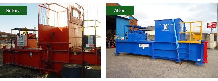 Waste Handling Refurbished Equipment