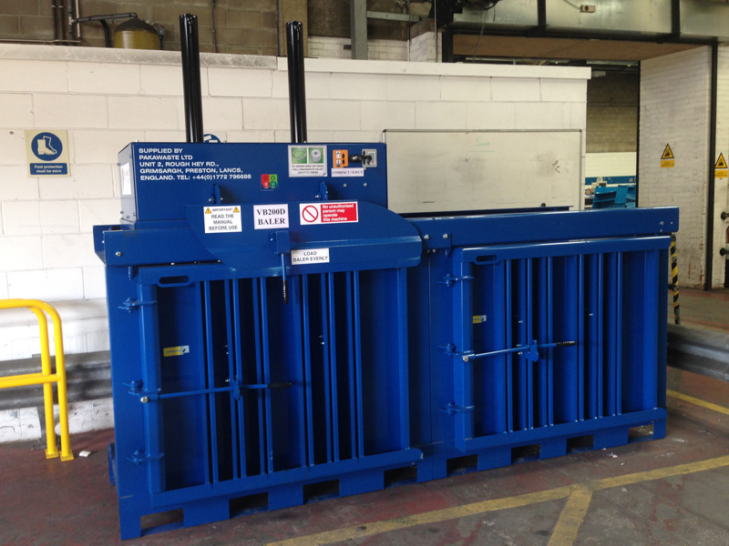 VB200D Vertical Baler